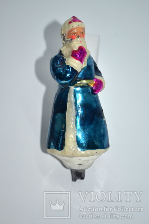 Елочная игрушка Дед Мороз, СССР