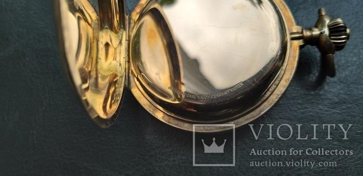 Часы   I.W.C. Schaffhausen в золоте, фото №8