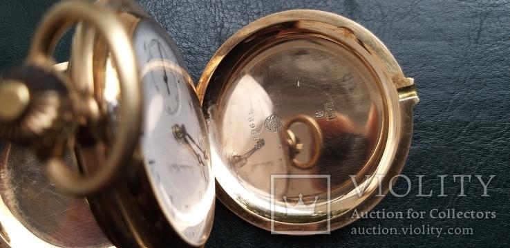 Часы   I.W.C. Schaffhausen в золоте, фото №9