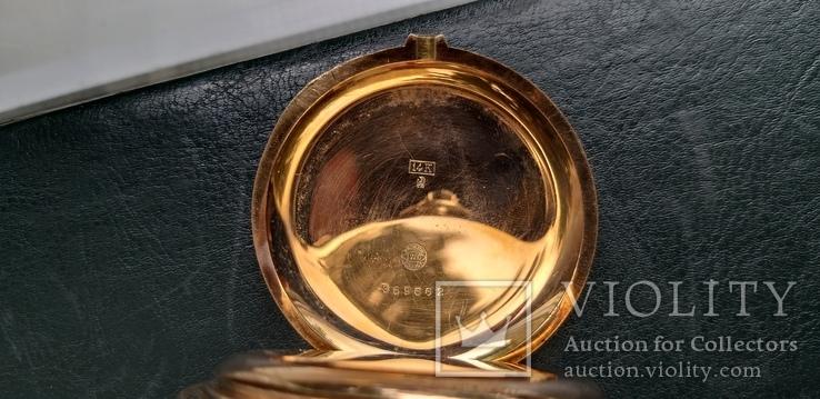 Часы   I.W.C. Schaffhausen в золоте, фото №10