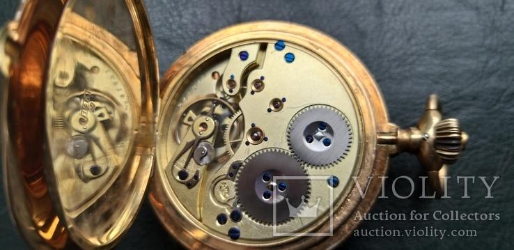 Часы   I.W.C. Schaffhausen в золоте, фото №11