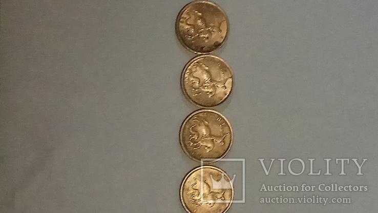 Монеты 5 копеек 2000 г., 2001г. 2002г. СПМД. и 2003г ММД (всего 4 шт.), фото №2