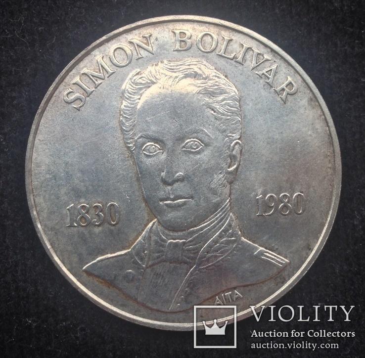 100 боливар 1980 Венесуэла