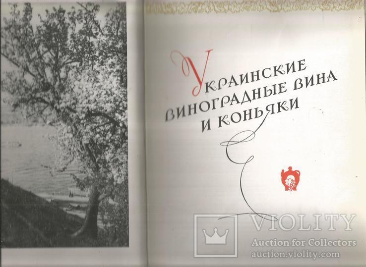 Каталог 1954 Украинские вина и коньяки Совмин Внешторгиздат, фото №3