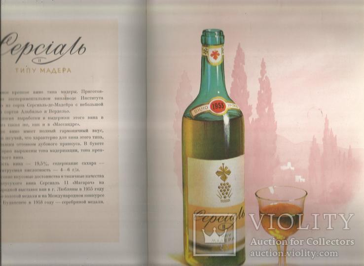Каталог 1954 Украинские вина и коньяки Совмин Внешторгиздат, фото №6