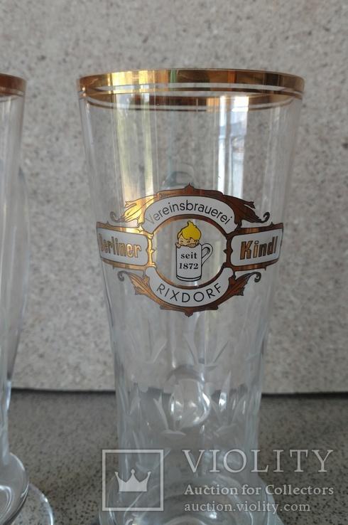 Пивные бокалы 2шт. Германия, фото №8