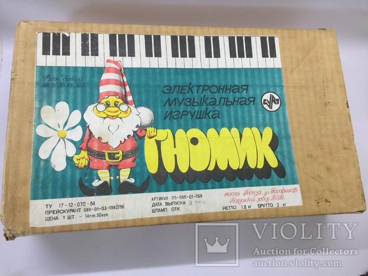 Электронная музыкальная игрушка Гномик, фото №3