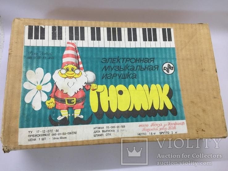 Электронная музыкальная игрушка Гномик, фото №4