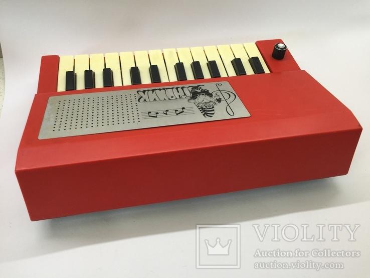 Электронная музыкальная игрушка Гномик, фото №7
