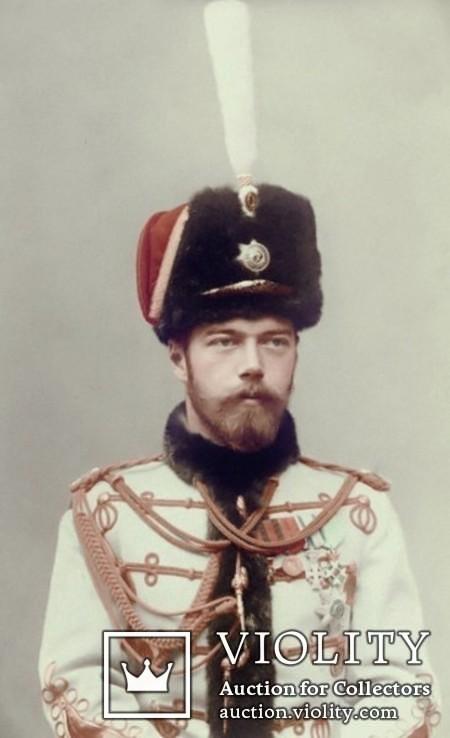 Император Николай II Александрович в белой форме гусара ( 12 )