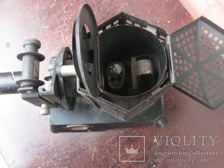Filmosto, 1930s, Vintage 35mm Film Projector, Made in Germany, фото №7