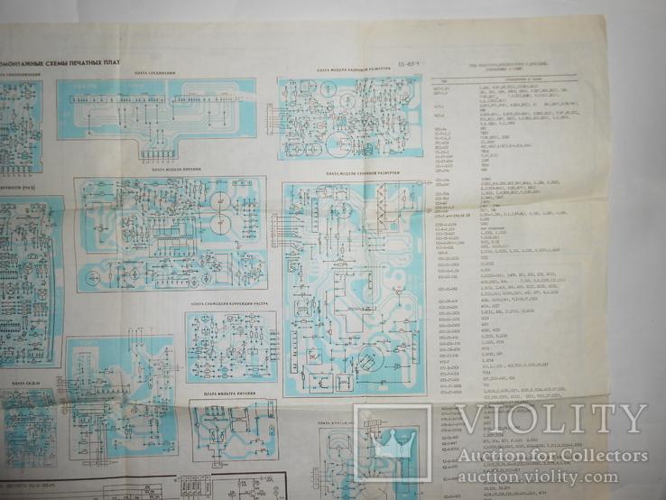 Документ Телевизор Электрон 1988 год, фото №12