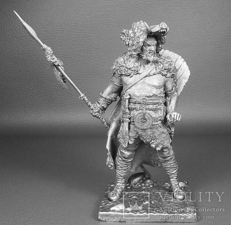 Германский воин,(160—180г.н.э.),75мм., фото №2