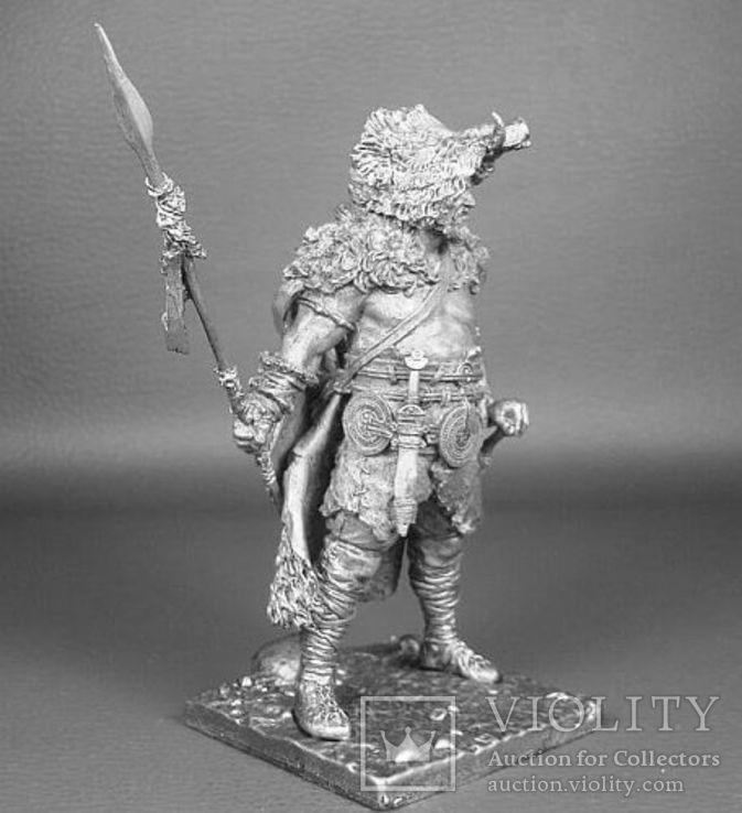 Германский воин,(160—180г.н.э.),75мм., фото №3