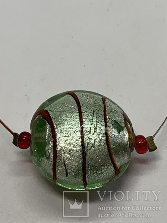 Кулон из муранского стекла, фото №2