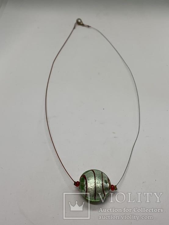 Кулон из муранского стекла, фото №3