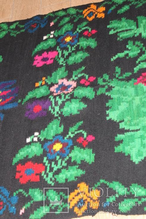 № 185 Буковинський вовняний килим 1958 року  6.60м. ковёр доріжка, фото №9