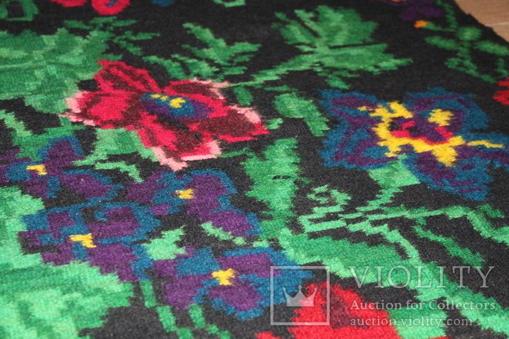 № 185 Буковинський вовняний килим 1958 року  6.60м. ковёр доріжка, фото №10