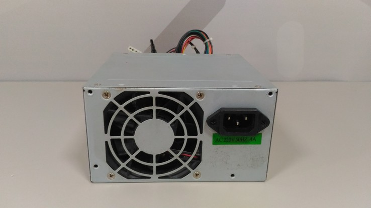 Блок питания Switching Power Supply 350W, АТХ, 20 PIN, фото №2