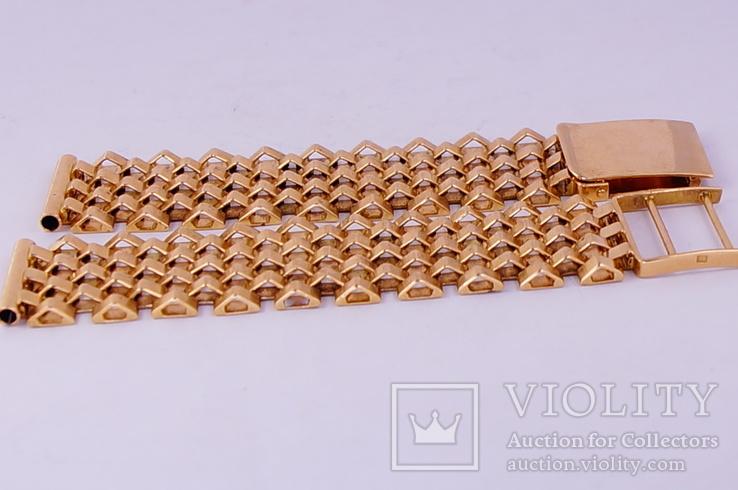 Золотой браслет 583, фото №4