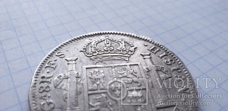 Монета 8 реалов 1821 года - Мексика - Фердинанд VII, фото №5