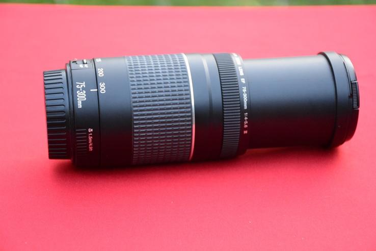 Canon EF 75-300mm f/4.0-5.6 III отличное рабочее состояние!