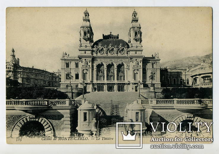 Казино в Монте-Карло. Театр. 1908 г.
