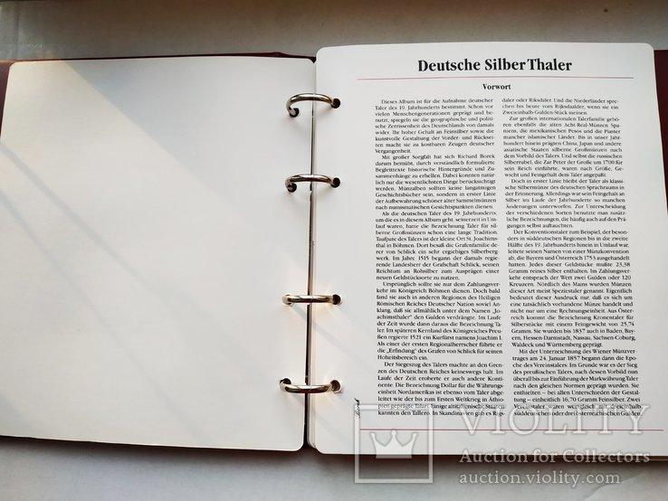 Альбом для немецких таллеров 19 века, фото №6