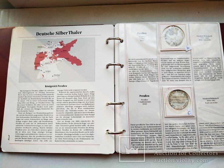 Альбом для немецких таллеров 19 века, фото №9