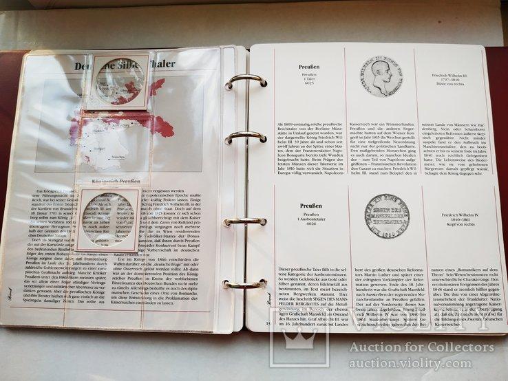 Альбом для немецких таллеров 19 века, фото №10