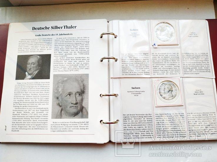 Альбом для немецких таллеров 19 века, фото №13