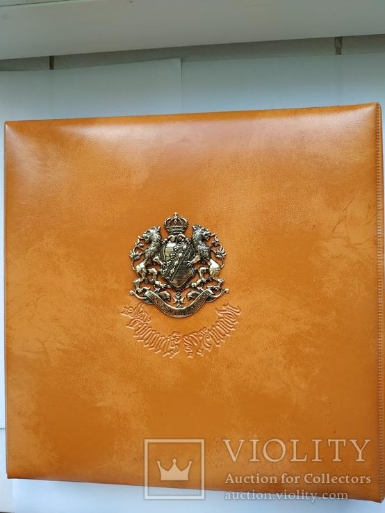 Альбом для монет с гербом Саксонии, фото №2