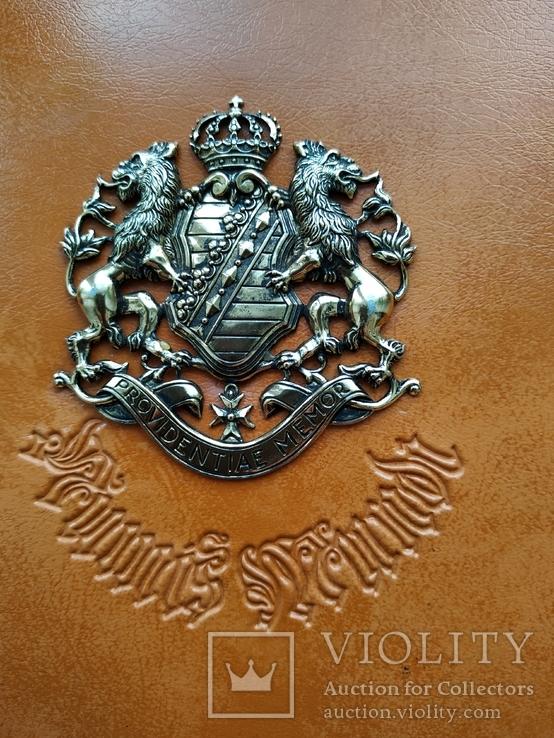 Альбом для монет с гербом Саксонии, фото №3