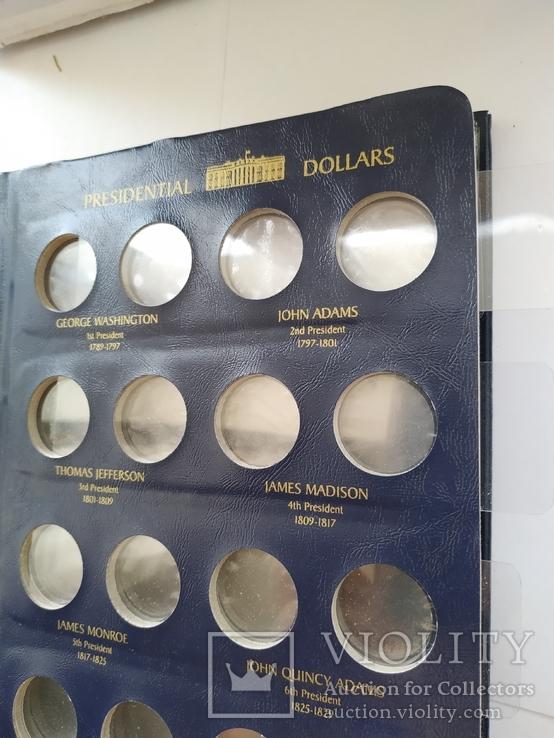 Альбом Leuchtturm OPTIMA, по президентские монеты США 2007 - 2016 года, фото №12