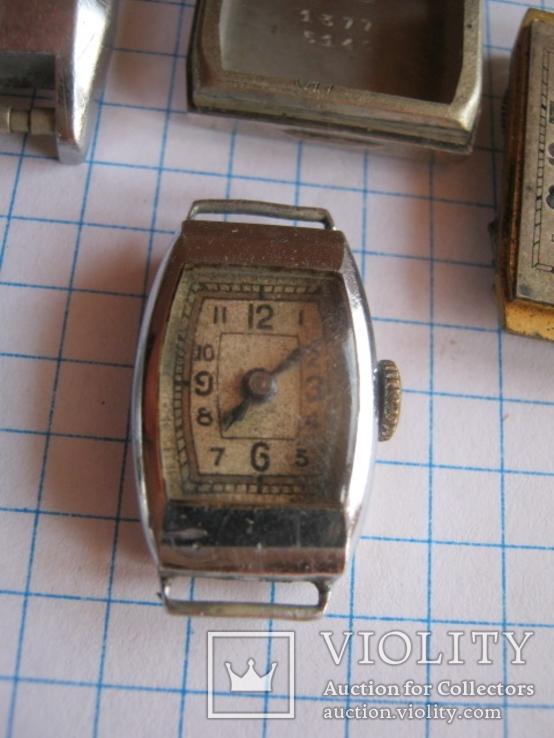 Старинные наручные женские часы 3 шт., фото №5