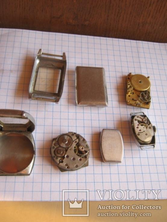 Старинные наручные женские часы 3 шт., фото №7