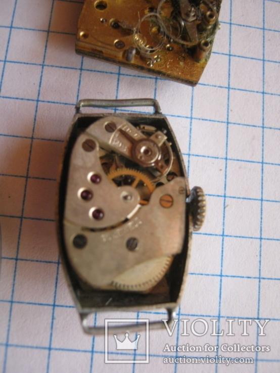 Старинные наручные женские часы 3 шт., фото №9