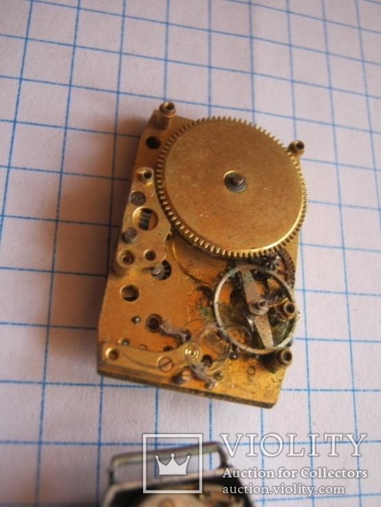 Старинные наручные женские часы 3 шт., фото №10
