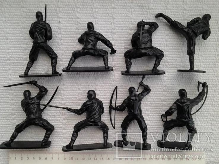 Солдатики, нинзя - 8 штук, фото №4