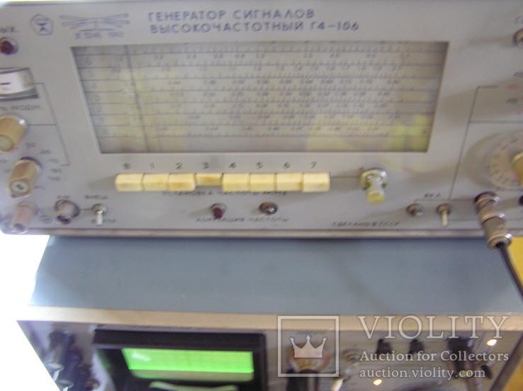 Генератор высокочастотный Г 4-106., фото №10