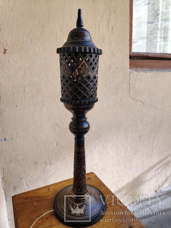 Лампа, светильник Индия времён СССР