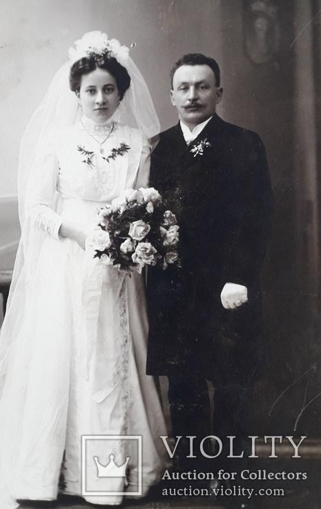 Свадебная фотография (Германия 19в), фото №3