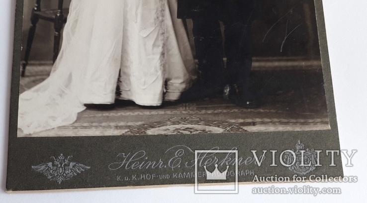 Свадебная фотография (Германия 19в), фото №4