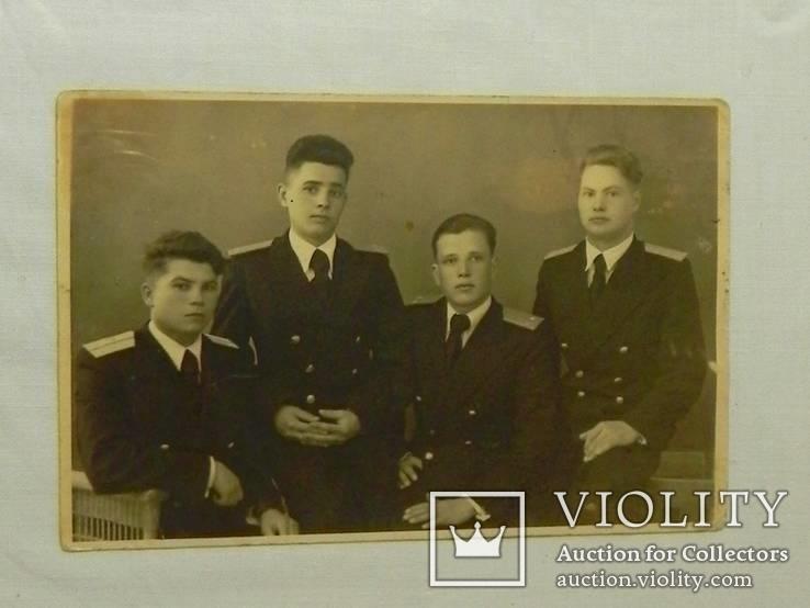 Морские офицеры в санатории. 1947г., фото №2