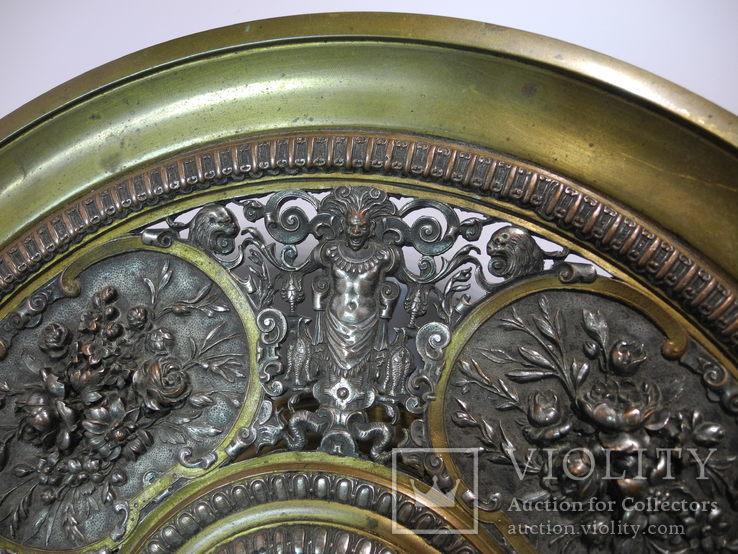 Старинная бронзовая Фруктовница ( AB. PARIS ), фото №5