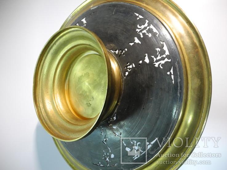 Старинная бронзовая Фруктовница ( AB. PARIS ), фото №13
