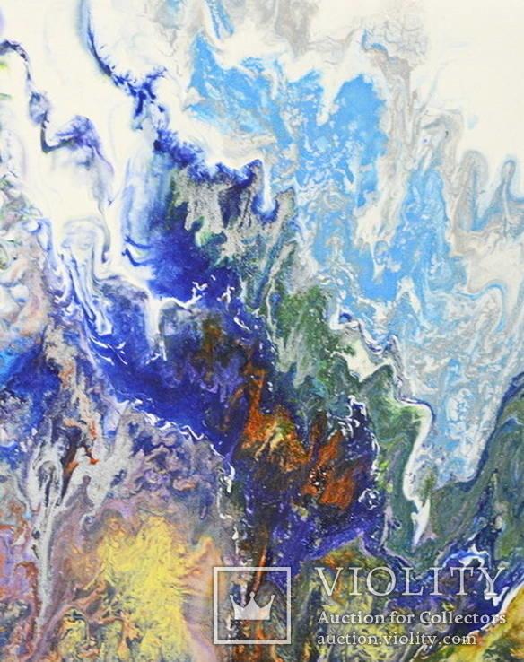 Картина Абстракция. Узоры зимы.   Winter patterns, фото №2