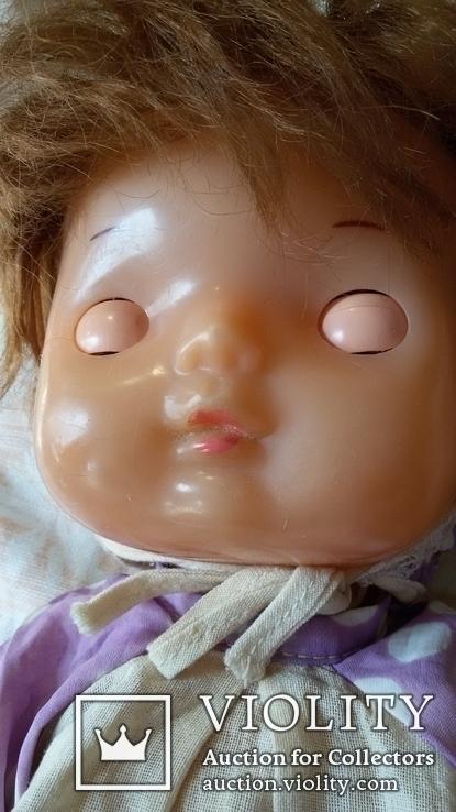 Кукла СССР младенец в родной одежде, фото №3