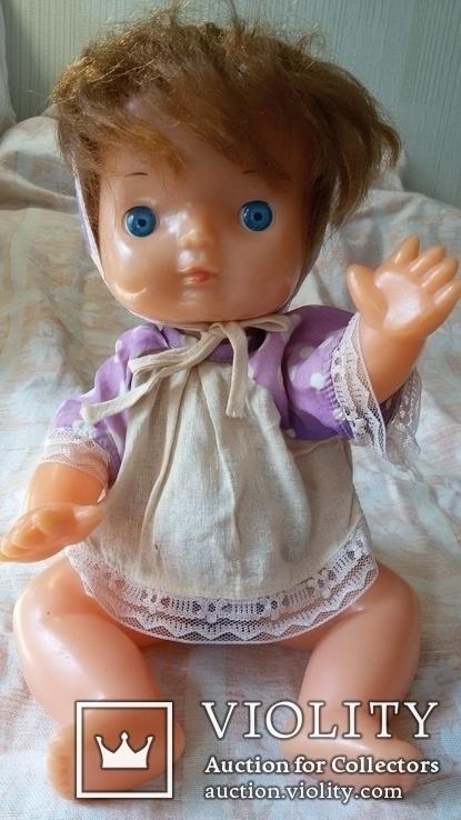 Кукла СССР младенец в родной одежде, фото №7
