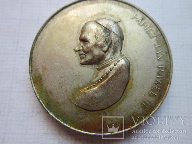 Памятна медаль-Папа Ян Павло ІІ., фото №3